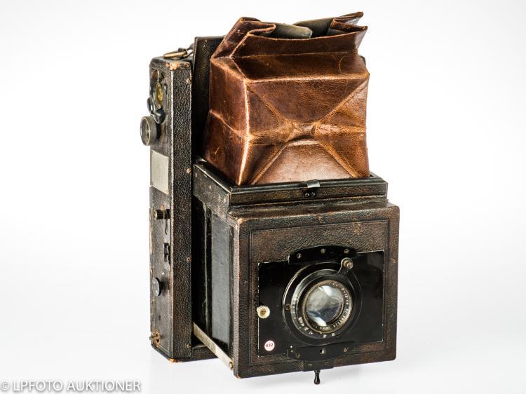 ICA Klappreflex-Künster-Camera 755 No.J 42939