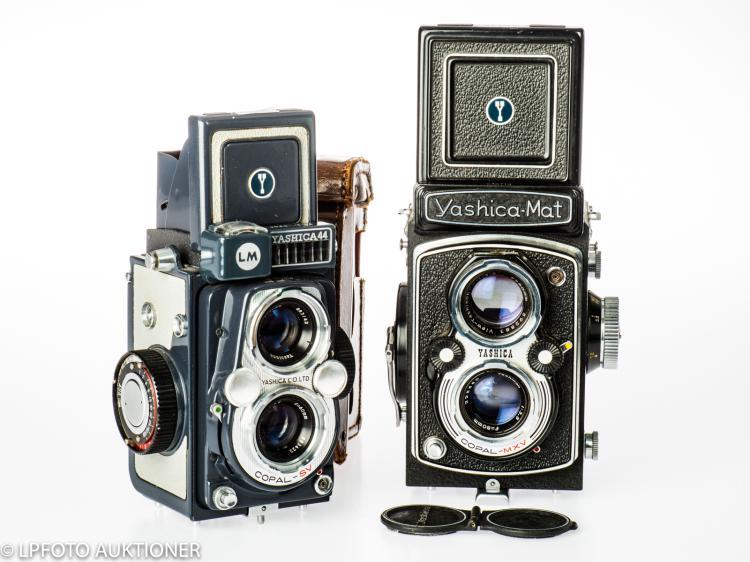 2 Yashica cameras