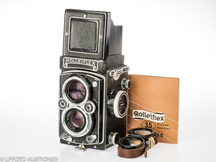 Rolleiflex 3.5E No.1851160