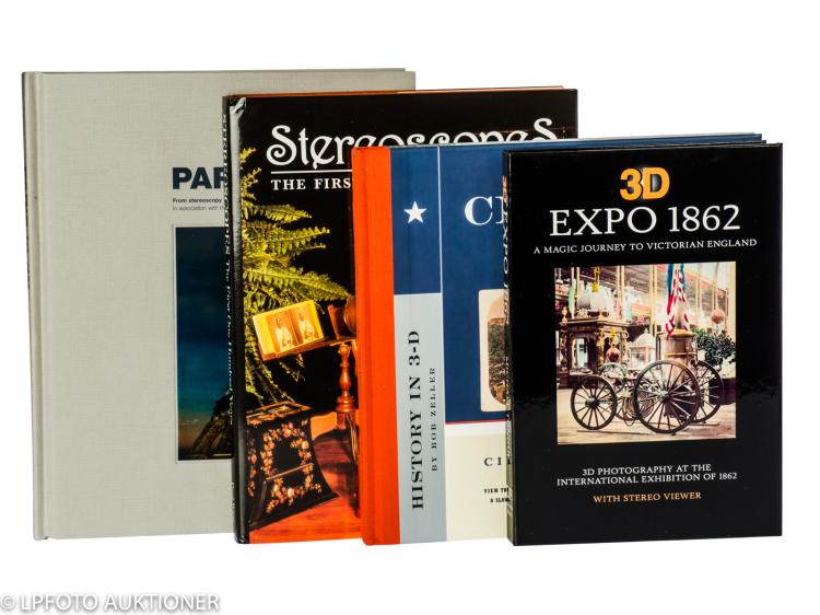 4 Stereo photography books