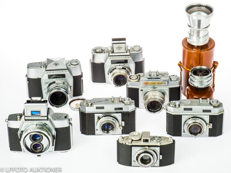 7 Agfa cameras