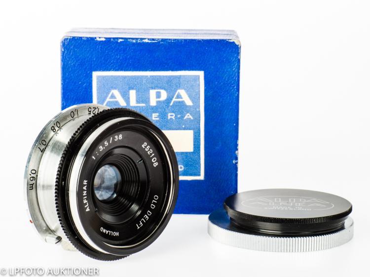 Old Delft Alfinar 3.5/38mm No.252108