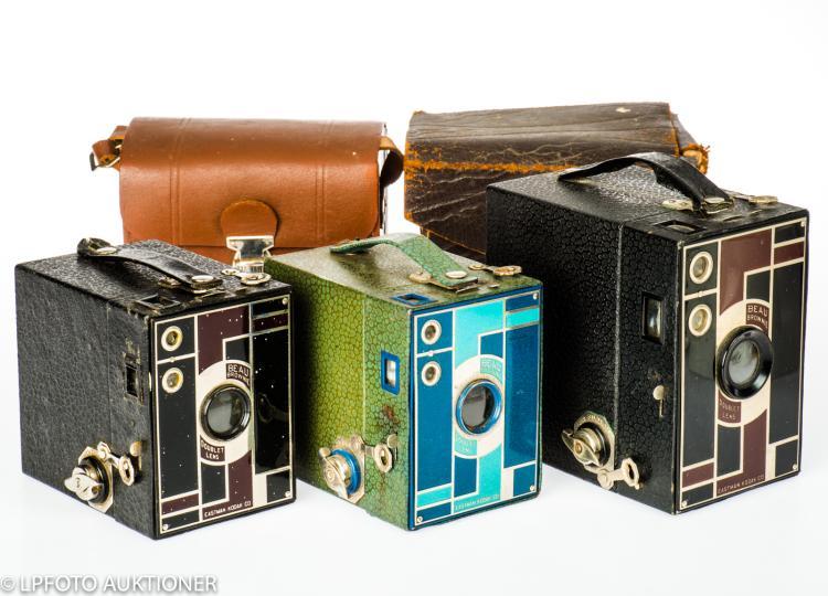 3 Kodak Beau Brownie