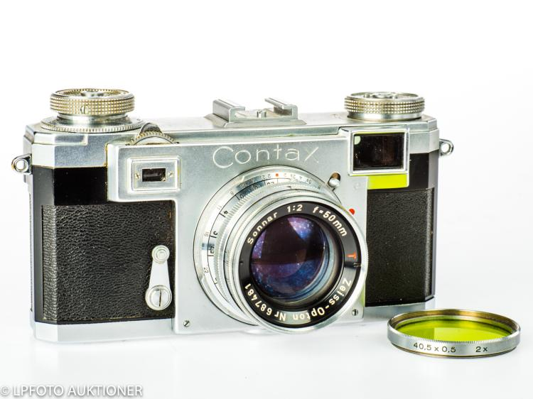 Zeiss Contax IIa No.T 32835