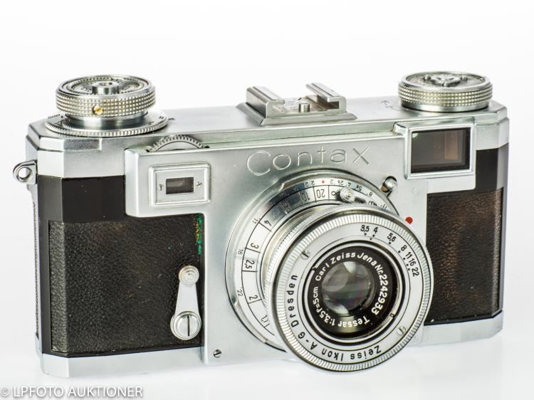 Zeiss Contax IIa No.T 28096