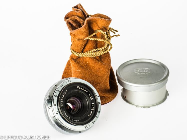 Carl Zeiss Planar 3.5/35mm No.1346301