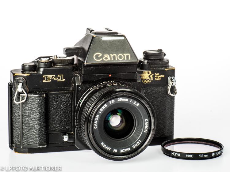 Canon F-1N AE Los Angeles No.LA 8060