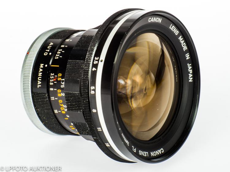Canon Lens FL 3.5/19mm R No.16476