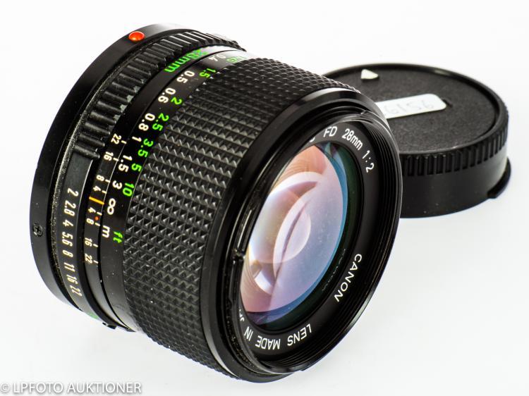 Canon Lens FDn 2/28mm No.30125