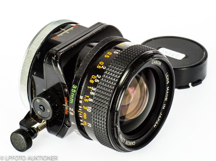 Canon Lens TS 2.8/35mm S.S.C. No.13605