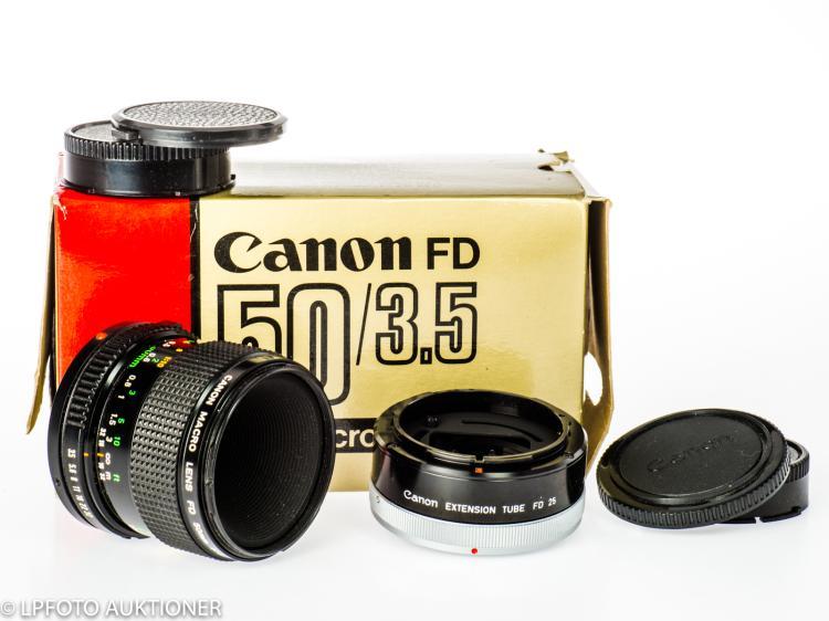 Canon Macro Lens FDn 3.5/50mm No.105654