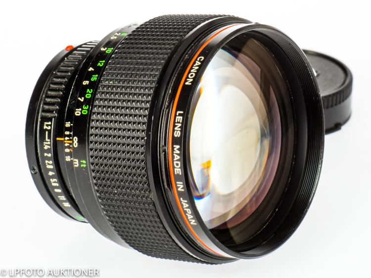 Canon Lens FDn 1.2/85mm L No.31512