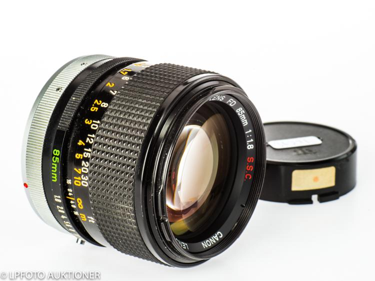 Canon FD 1.8/85mm S.S.C No.12871