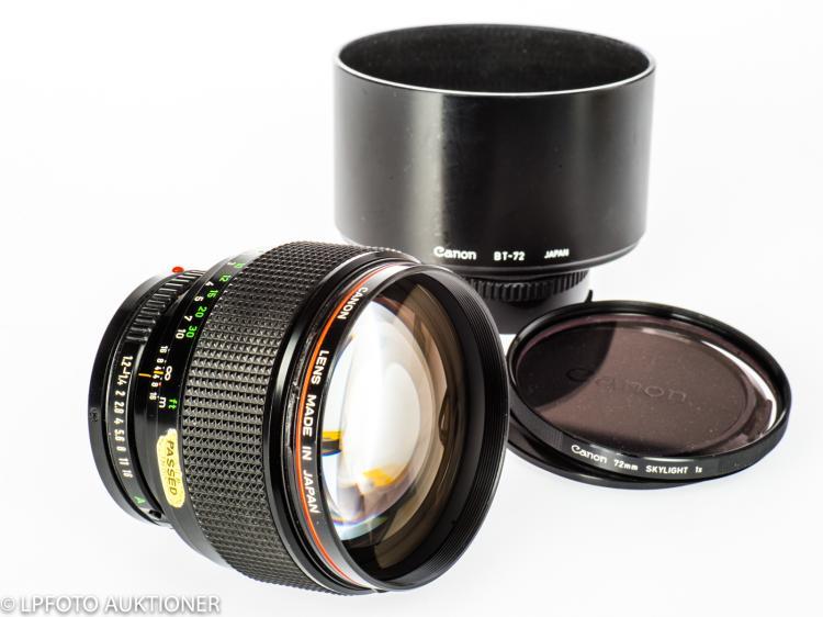 Canon Lens FDn 1.2/85mm L No.10404