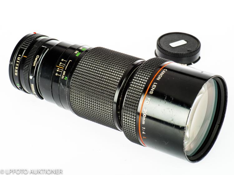 Canon Lens FDn 4/300mm L No.5257689
