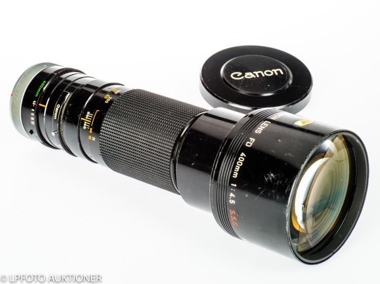 Canon Lens FD 4.5/400mm S.S.C. No.15999