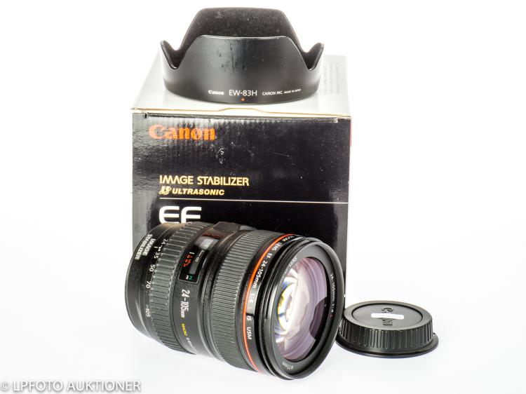 Canon Zoom Lens EF 4/24-105mm L IS USM No.0344B006