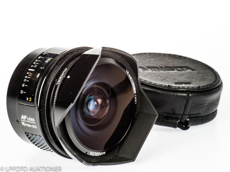 Minolta AF Fish-Eye 2.8/16mm No.152011001