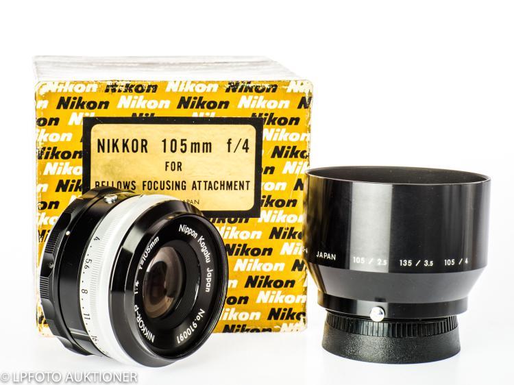 Nikkor-P 4/105mm No.910091