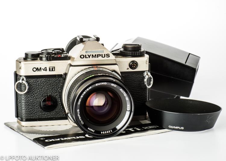 Olympus OM-4 Ti No.1126952