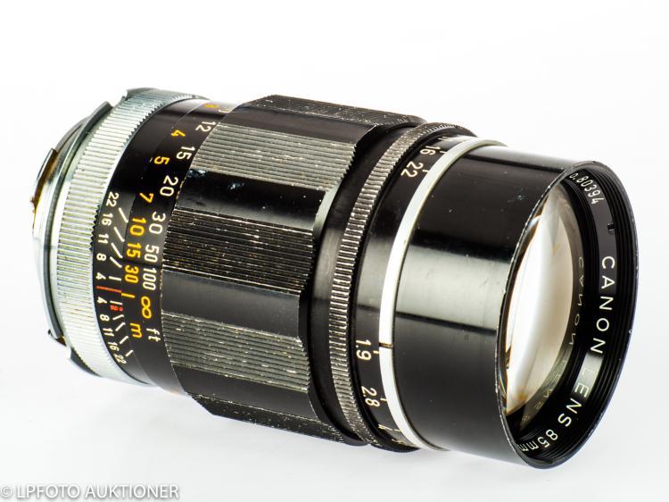 Canon Lens 1.9/85mm No.65715