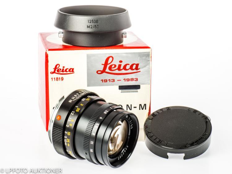 Summicron-M 2/50mm Leica 1913-1983 No.3262060