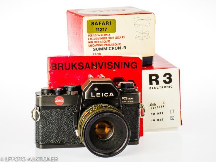 Leica R3 Mot Electronic No.1509759