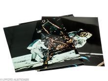 5 Hasselblad/Nasa display photos