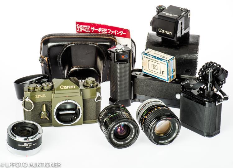 Canon F-1 Olive Drab No.575293