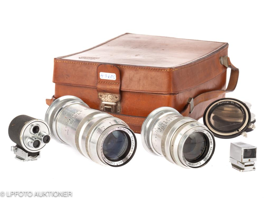 Lot with two lenses for Casca II