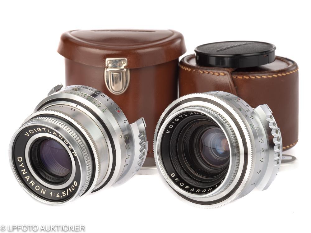 Two Voigtländer lenses