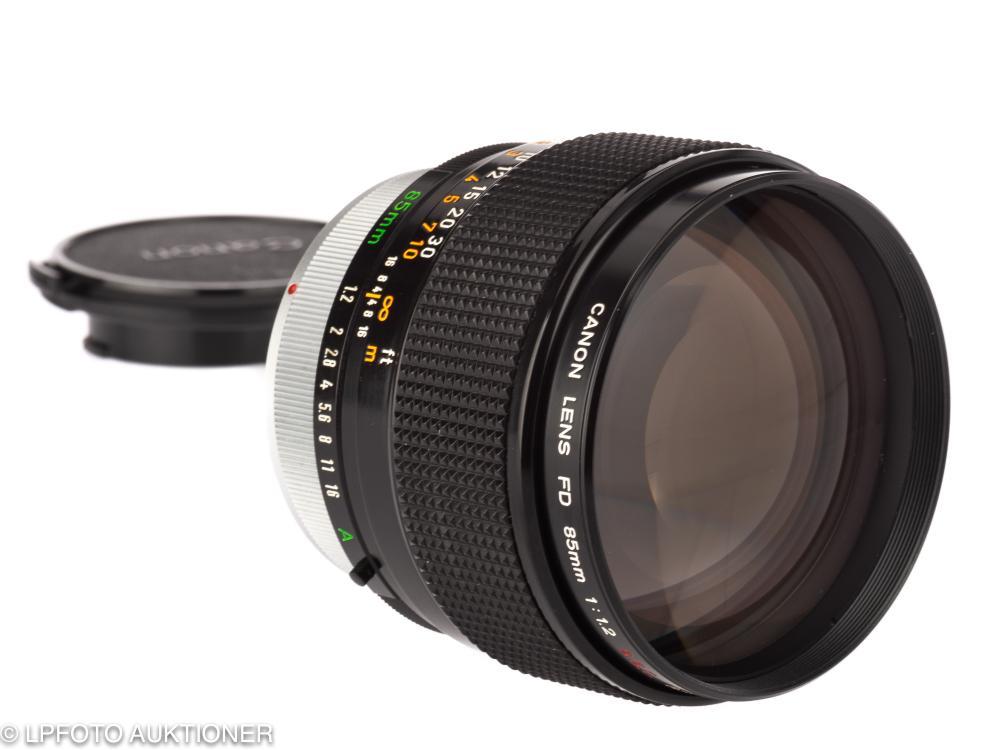 Canon FD 1.2/85mm S.S.C. Aspherical No.13171