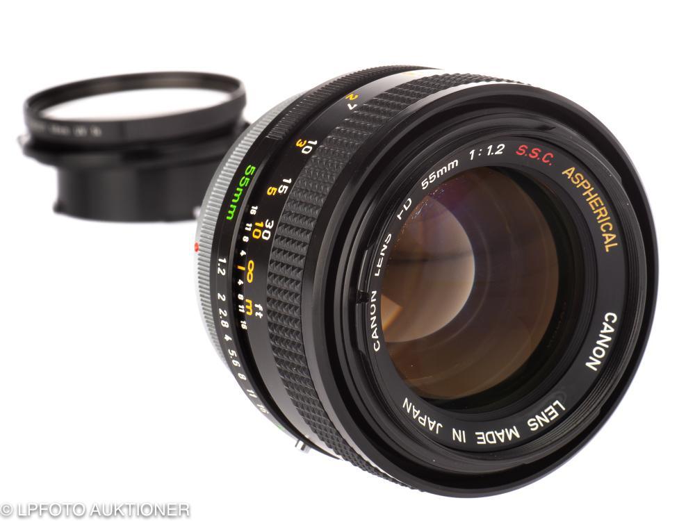 Canon FD 1.2/55mm S.S.C. Aspherical No.79571