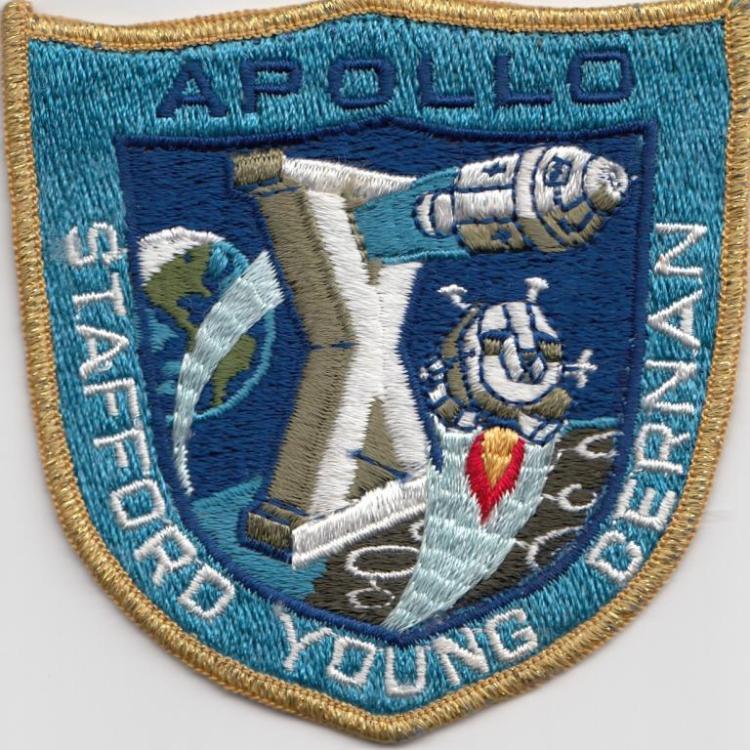 Apollo 10 Uncommon Grumman Mission Patch