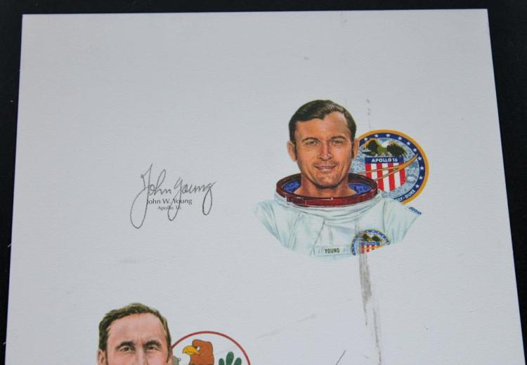 john young astronaut autograph - photo #24