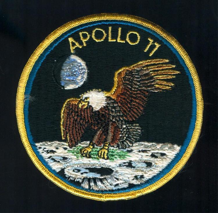 Apollo 11 Biological Garments Crew Patch
