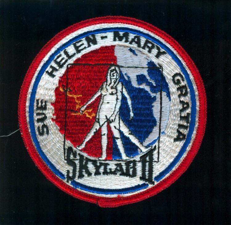 Skylab 3 Wives Patch