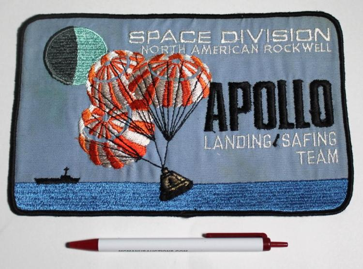 Rare Rockwell Apollo Landing / Safing Team Patch