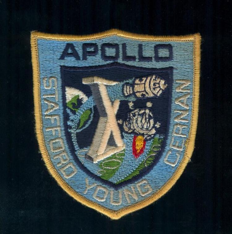 Apollo 10 Post-Flight Crew Patch Variant