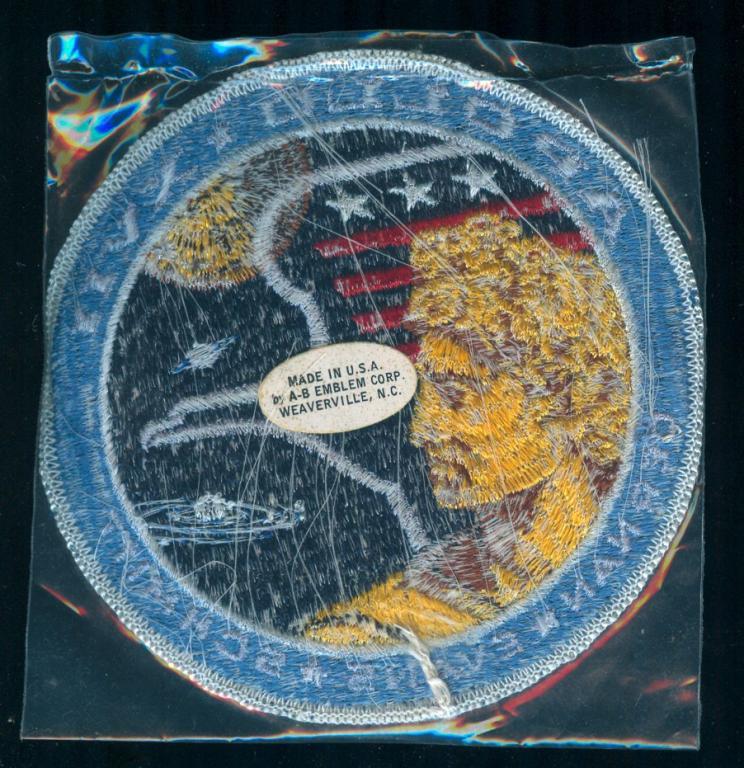 Karol Bobko's Apollo 17 White Eagle Patch