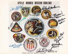 Lunar Legacies Space Memorabilia Auction 25