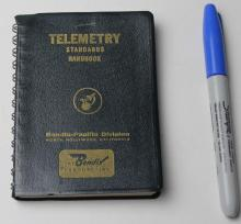 Early Telemetry Standards Book From Bendix, 1961