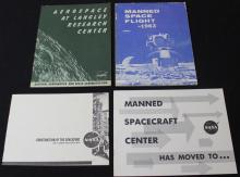 Group of 9 Early NASA Booklets