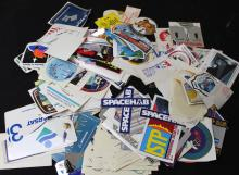 Huge Lot of Space-Related Stickers