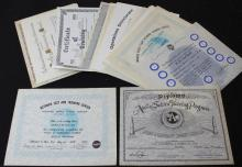 Large Group of Employee Award Certificates