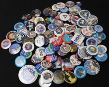 Large Group of Space-Related Pinback Buttons