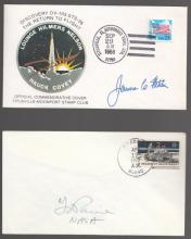 NASA Administrator Signatures on Two Covers