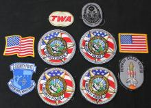 One Man's KSC Security Uniform Patches