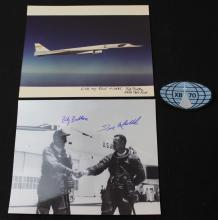 Three Pilot Signature on XB-70 Photos + Patch