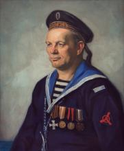 Portrait of a Russian Sailor